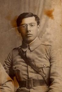 Aurel Balaban - Elev la Școala de Ofițeri Iași