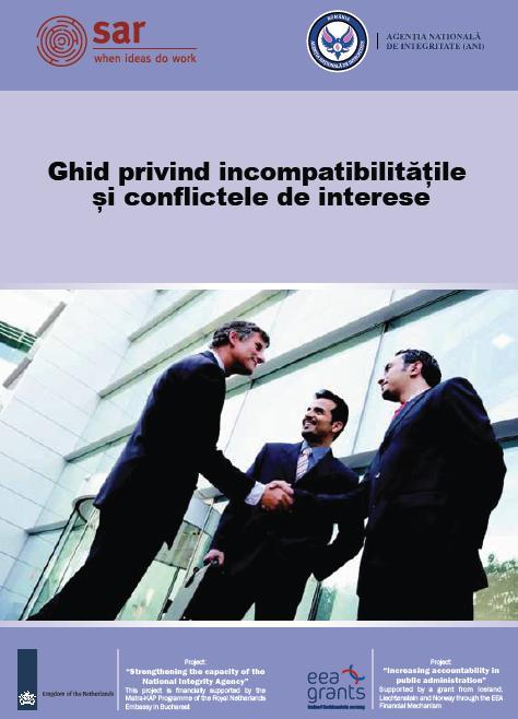 """Despre conflictul de interese (I) – Spicuiri din """"Ghidul privind incompatibilitățile și conflictele de interese"""" (A.N.I. – Agenția Națională de Integritate)"""