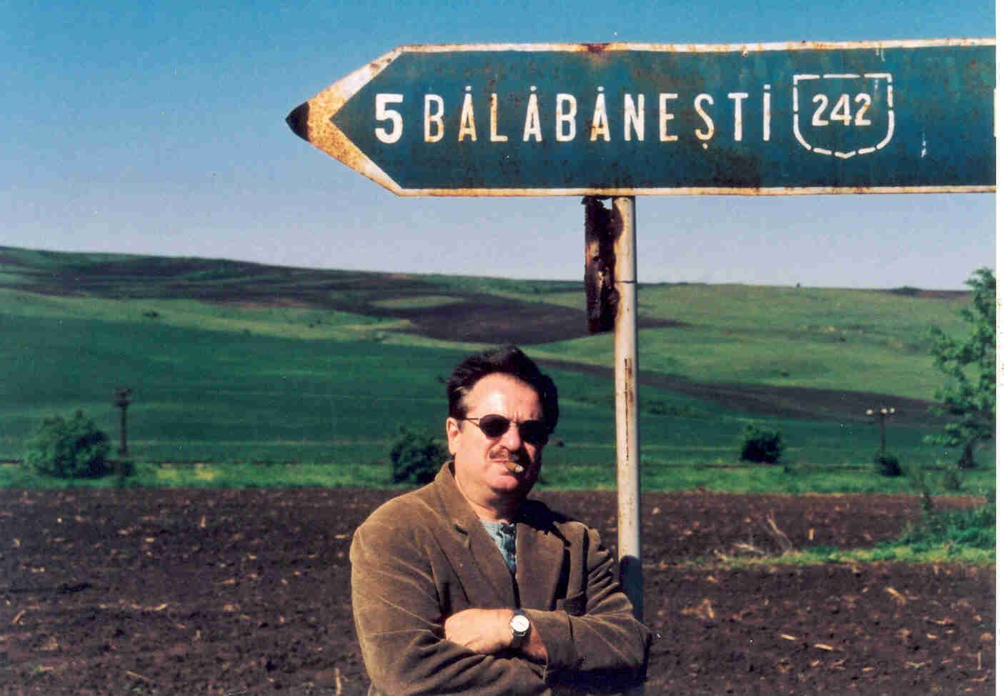 """Un oaspete de seamă la el acasă, în """"Ținutul Balabanilor"""""""