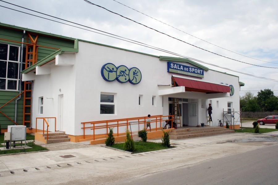 Viața Liberă Galați: Sala de sport din Munteni, gata pentru competiţii