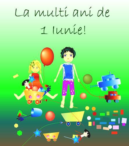 La mulţi ani tuturor copiilor!