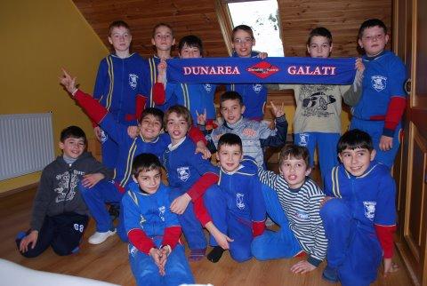 Cantonament de pregătire în comuna Cârța pentru Gladiatorii de la Dunărea Galați
