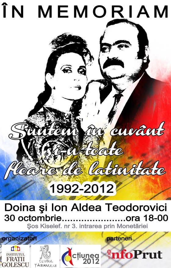 In memoriam Doina şi Ion Aldea-Teodorovici