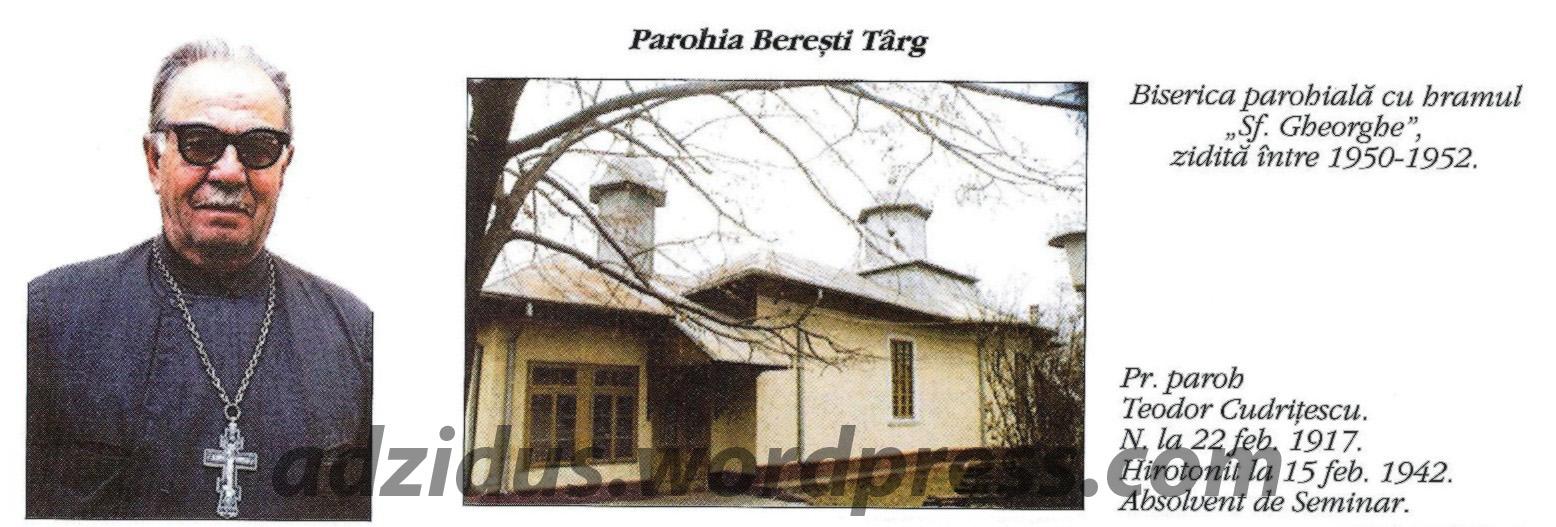 Interviu cu părintele Teodor Cudriţescu