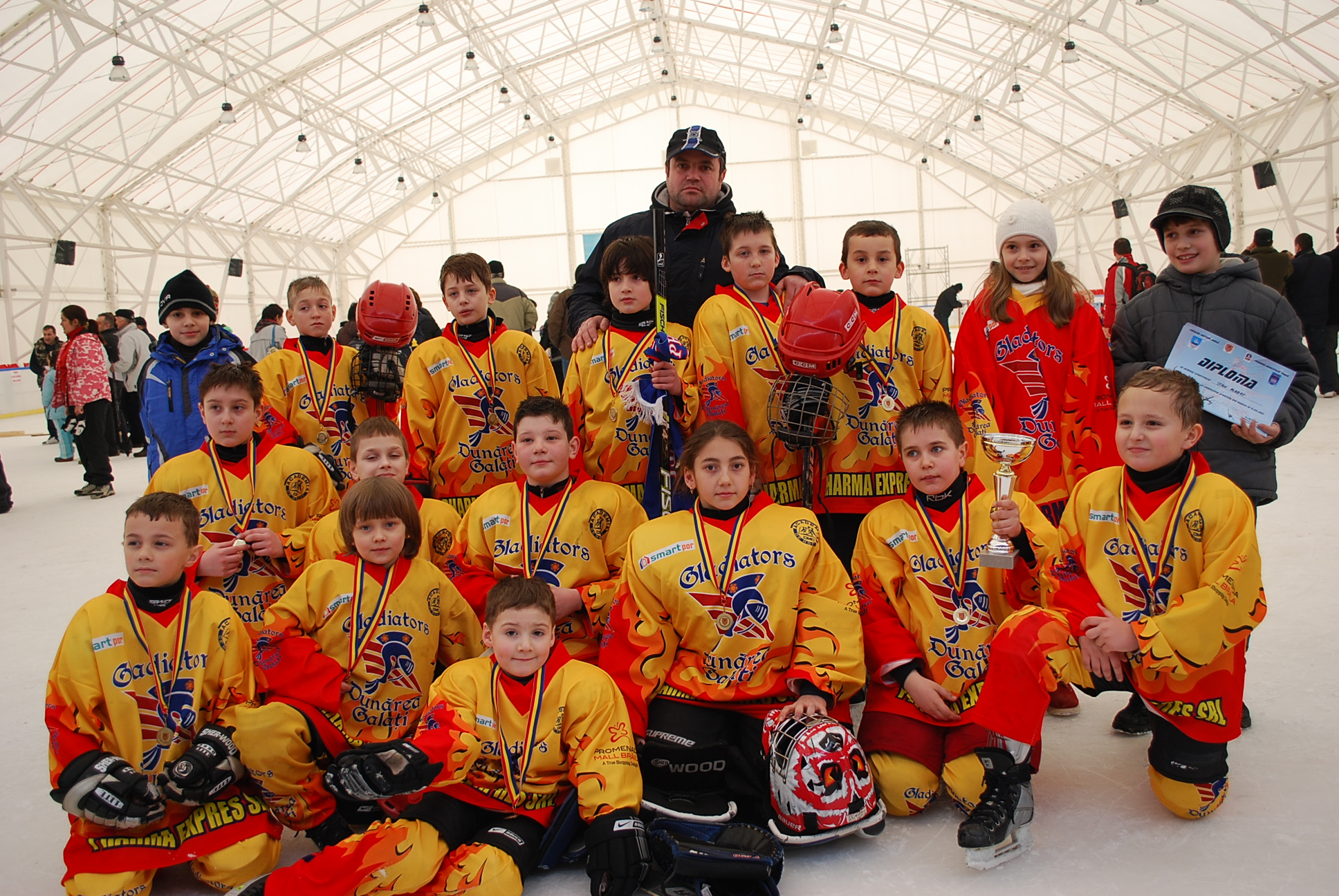 De vorbă cu antrenorul Cristi Munteanu, profesor de hochei pe gheaţă la C.S.M. Dunărea Galaţi