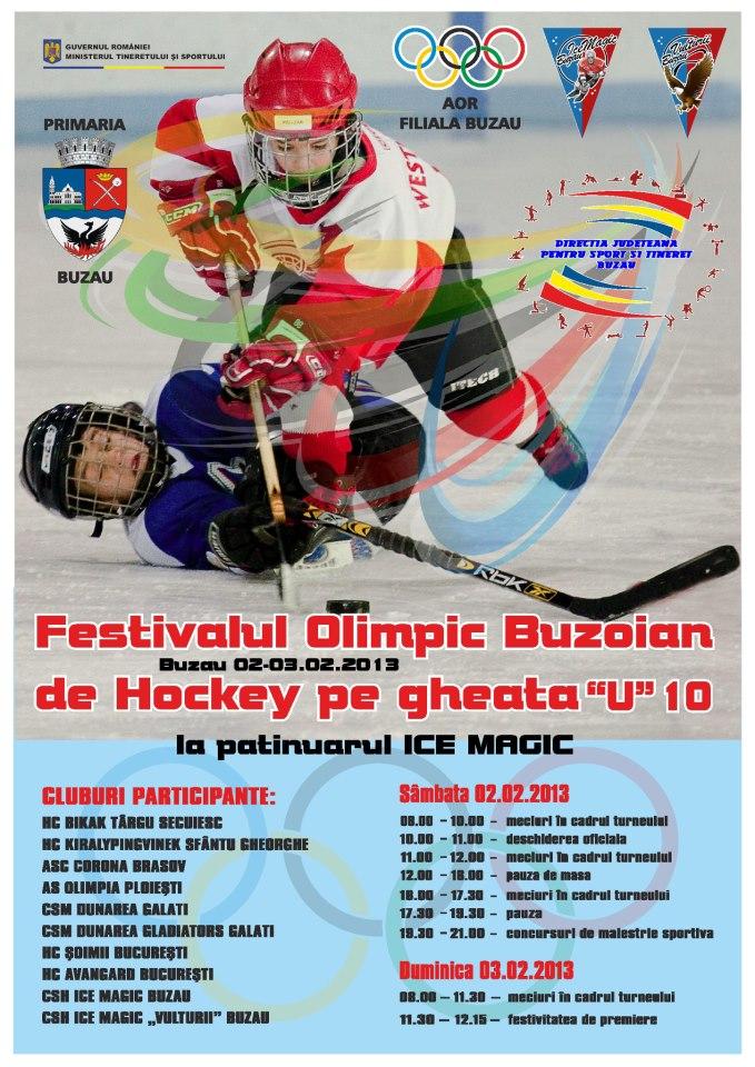 Festivalul Olimpic De Hochei Pe Gheaţă – Buzău 2013