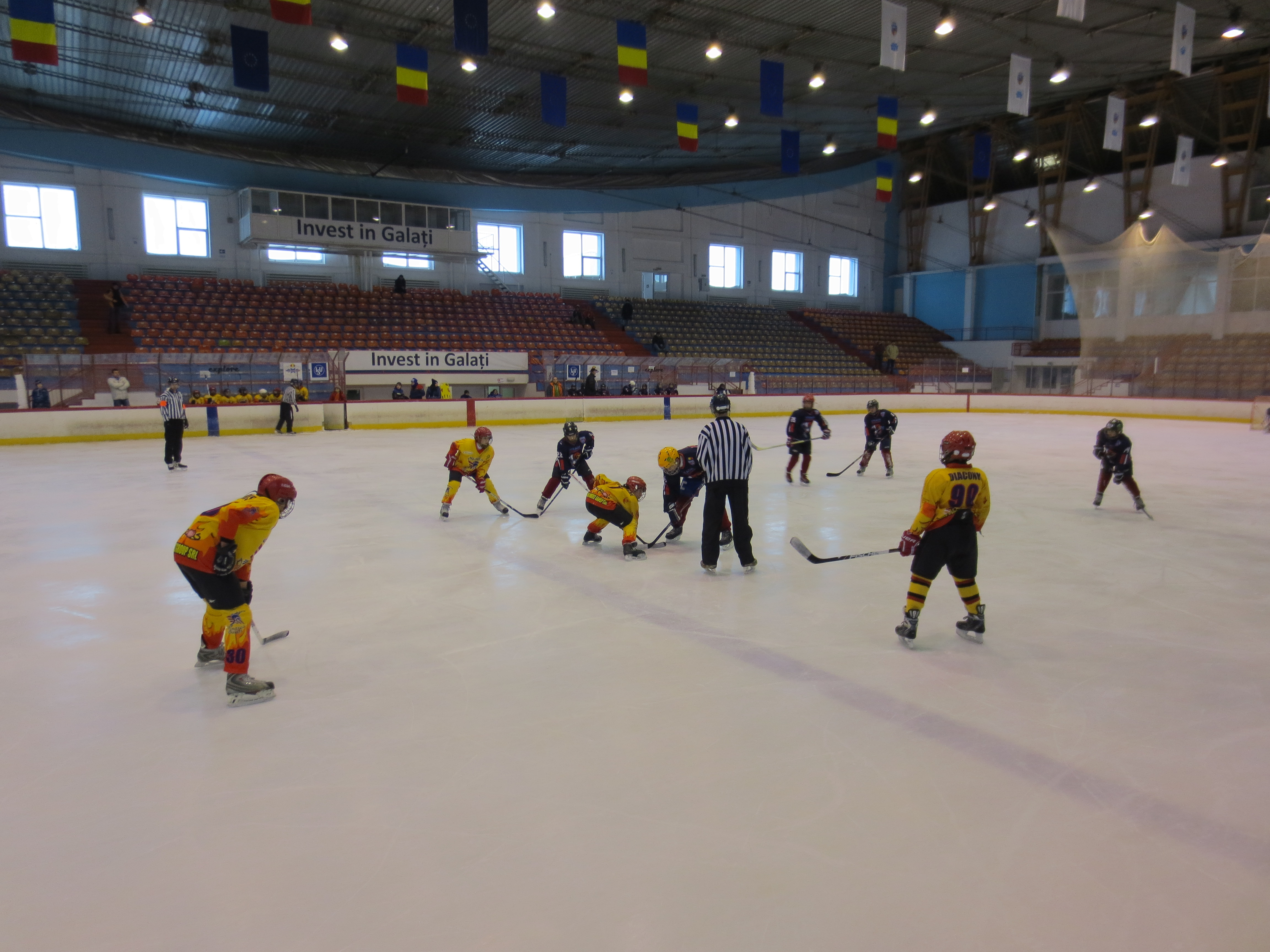 La categoria de vîrstă U14, Gladiators Dunărea Galați a surclasat echipele din capitală